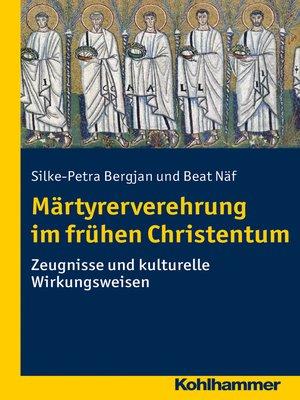 cover image of Märtyrerverehrung im frühen Christentum