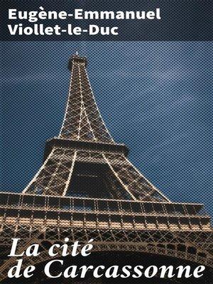 cover image of La cité de Carcassonne