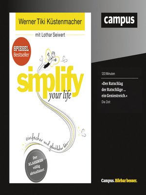 cover image of simplify your life