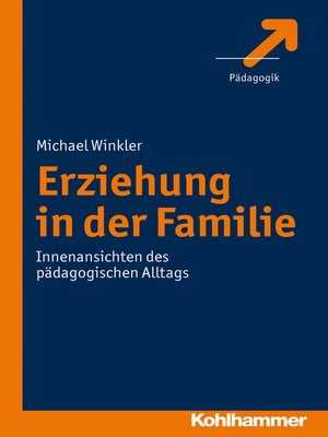 cover image of Erziehung in der Familie
