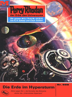 cover image of Perry Rhodan 558