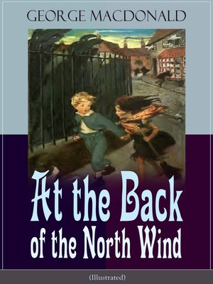cover image of At the Back of the North Wind (Illustrated)