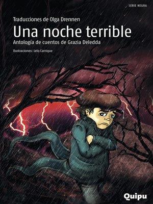 cover image of Una noche terrible