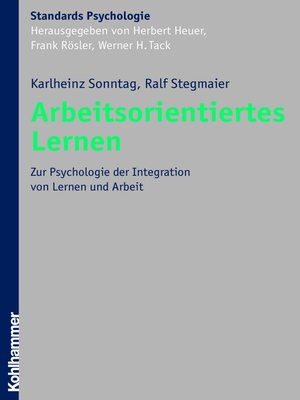cover image of Arbeitsorientiertes Lernen