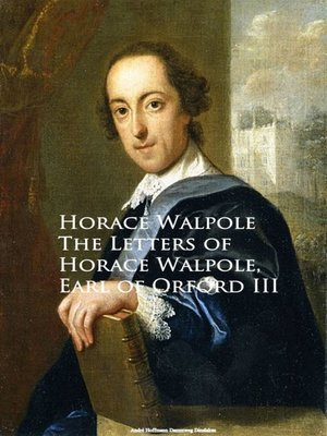 cover image of The Letters of Horace Walpole, Earl of Orford III