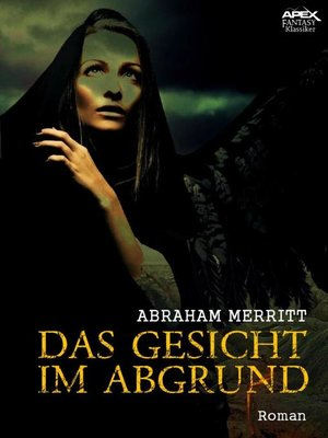 cover image of DAS GESICHT IM ABGRUND