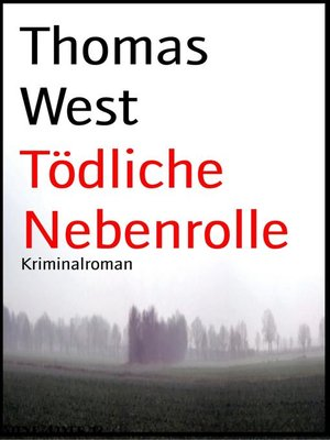 cover image of Tödliche Nebenrolle