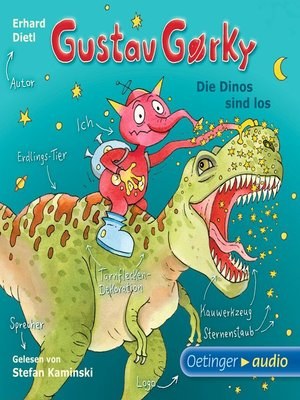 cover image of Gustav Gorky--Die Dinos sind los