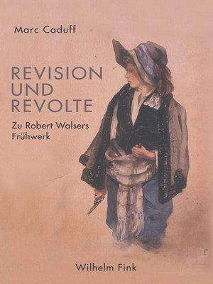 cover image of Revision und Revolte