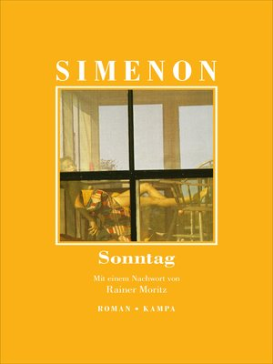 cover image of Sonntag