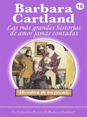cover image of Heredera de un Pecado