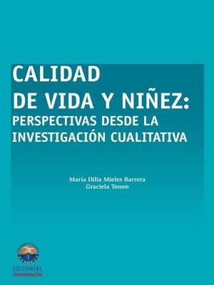 cover image of Calidad de vida y niñez