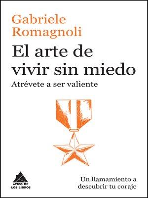 cover image of El arte de vivir sin miedo