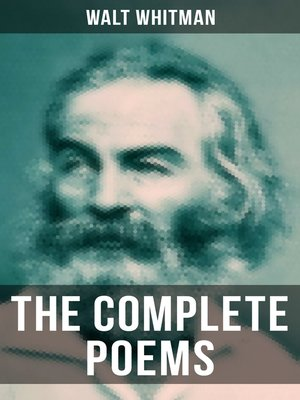 cover image of The Complete Poems of Walt Whitman