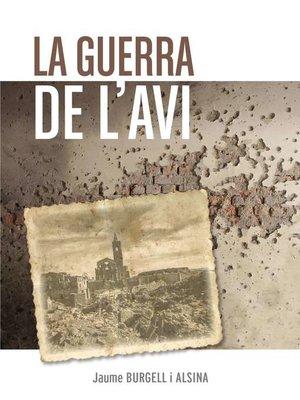 cover image of La guerra de l'avi