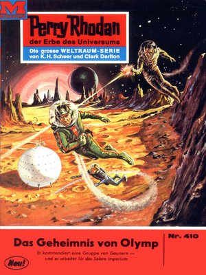 cover image of Perry Rhodan 410