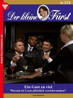 cover image of Der kleine Fürst 212 – Adelsroman