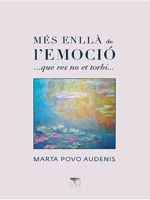 cover image of Mes enlla de l'emoció
