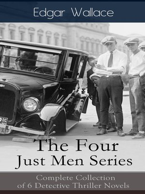 cover image of The Four Just Men Series