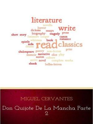 cover image of Don Quijote de la Mancha 2