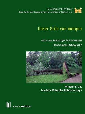 cover image of Unser Grün von morgen