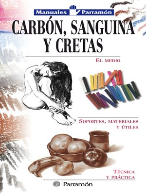 cover image of Carbón, sanguina y cretas