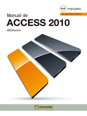 cover image of Manual de Access 2010