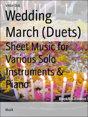 cover image of Wedding March (Duets)