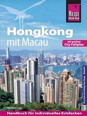 cover image of Reise Know-How Reiseführer Hongkong--mit Macau