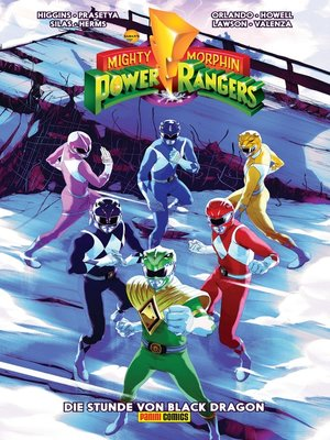 cover image of Mighty Morphin Power Rangers, Band 2--Die Stunde von Black Dragon