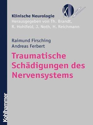 cover image of Traumatische Schädigungen des Nervensystems