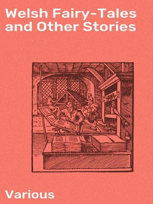 cover image of Welsh Fairy-Tales and Other Stories