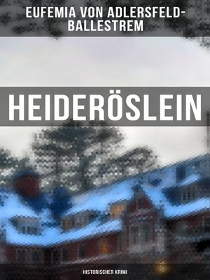 cover image of Heideröslein