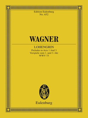 cover image of Lohengrin