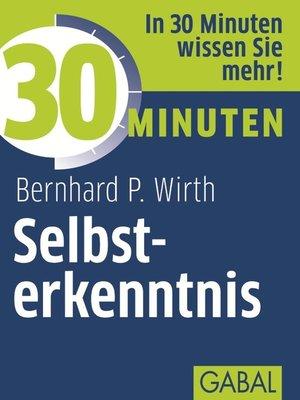cover image of 30 Minuten Selbsterkenntnis