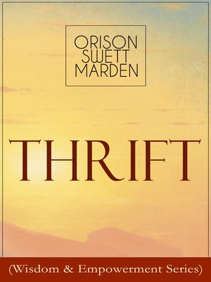 cover image of Thrift (Wisdom & Empowerment Series)