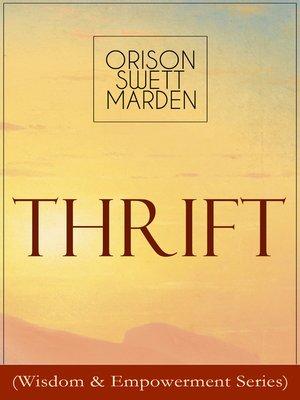 cover image of Thrift (Wisdom & Empowerment Series)