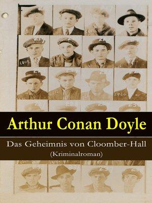 cover image of Das Geheimnis von Cloomber-Hall (Kriminalroman)
