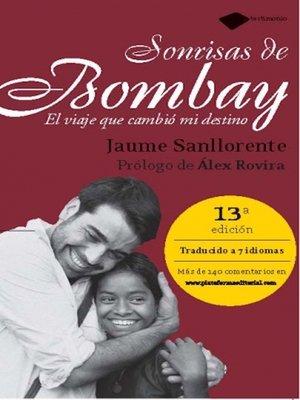 cover image of Sonrisas de Bombay