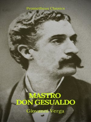 cover image of Mastro Don Gesualdo (Prometheus Classics)