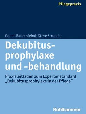 cover image of Dekubitusprophylaxe und -behandlung