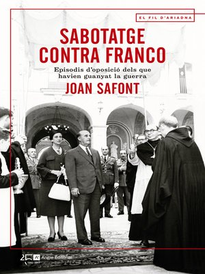 cover image of Sabotatge contra Franco