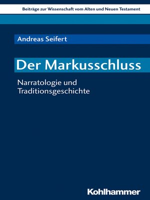 cover image of Der Markusschluss