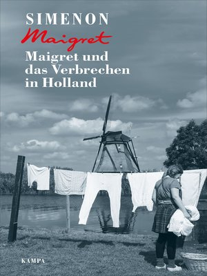 cover image of Maigret und das Verbrechen in Holland