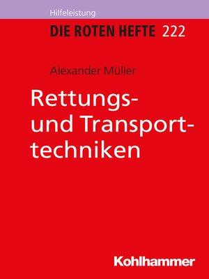 cover image of Rettungs- und Transporttechniken