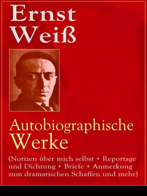 cover image of Ernst Weiß