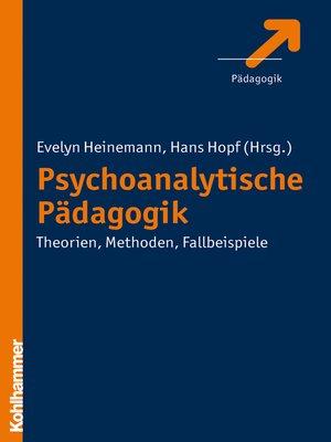 cover image of Psychoanalytische Pädagogik