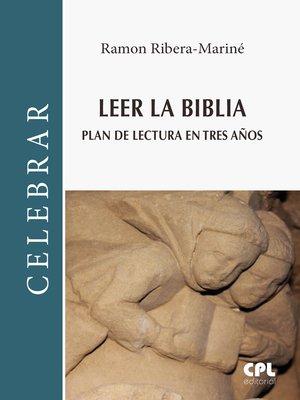 cover image of Leer la Biblia