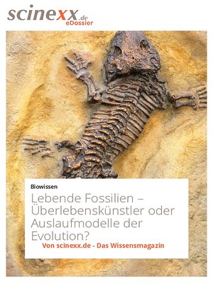 cover image of Lebende Fossilien