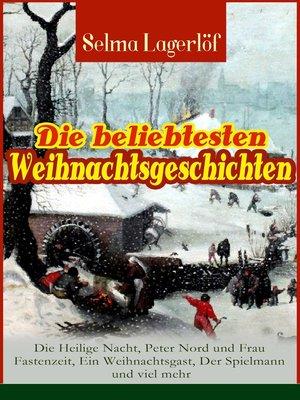 cover image of Die beliebtesten Weihnachtsgeschichten von Selma Lagerlöf
